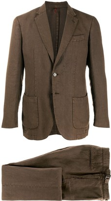 Dell'oglio Single Breasted Two-Piece Suit