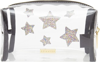 Skinnydip Stars Clear Makeup Bag