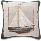 Bed Bath & Beyond Sailboat Square Toss Pillow