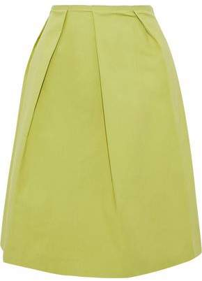 RED Valentino Pleated Cotton Skirt