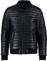 Oakwood Leather Jacket Noir