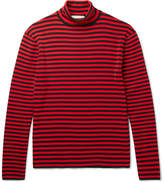 Gucci Striped Cotton Rollneck Sweater