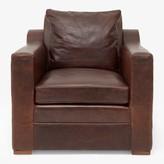 Ralph Lauren Home Raymond Leather Club Chair