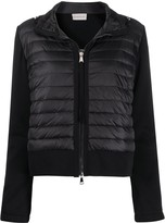 Moncler quilted padded bomber jacket