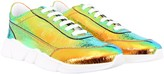 Joshua Sanders Colorful Kids Sneakers With White Logo