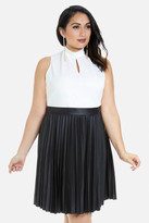 Fashion to Figure Lynn Color-Block Flare Dress