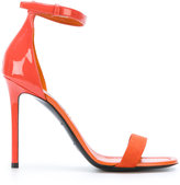 Emilio Pucci ankle strap stiletto sandals