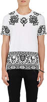 Alexander McQueen Men's Skull Brocade Cotton T-Shirt
