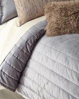 Donna Karan Home Full/Queen Channel-Stitch Velvet Quilt