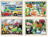 Melissa & Doug Toddler Jigsaw Puzzle Set
