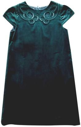 Gucci Green Velvet Dresses