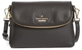 Kate Spade Jackson Street Harlyn Leather Crossbody Bag - Black