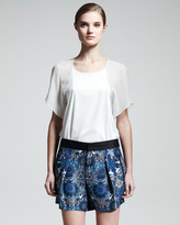 Helmut Lang Mandala-Print Shorts