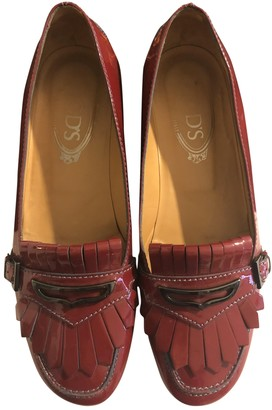 Tod's Red Patent leather Flats