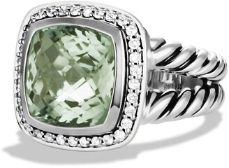 David Yurman Albion Ring with Semiprecious Stone & Diamonds