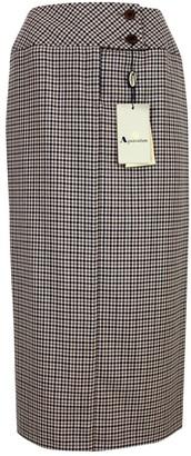 Aquascutum London Blue Wool Skirt for Women