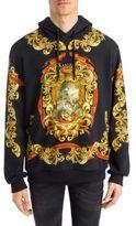 Dolce & Gabbana Heraldic Print Hoodie