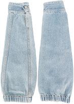 MM6 MAISON MARGIELA denim sleeves - women - Cotton - One Size