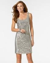 FINAL SALE Sleeveless Sequin Dress