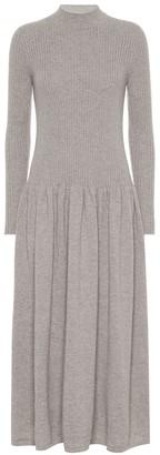 Agnona Cashmere midi dress