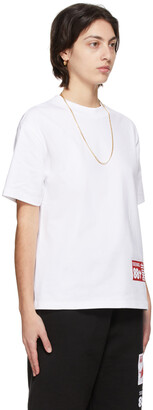 SSENSE WORKS SSENSE Exclusive 88rising White 'Double Happiness' T-Shirt