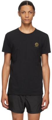Versace Underwear Black Medusa T-Shirt