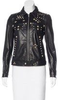 R 13 2016 Leather Studded Jacket