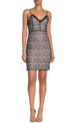 One One Six Lace Slip Dress