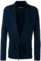 Nuur tie-fastening cardigan - men - Cotton/Nylon - 48