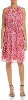 T Tahari Seliah Floral Print Dress