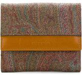 Etro small paisley wallet