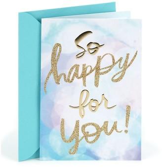 "Hallmark Congratulations ""So Happy for You"" Greeting Card"