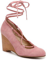 Adrienne Vittadini Smily Wedge Pump - Women's