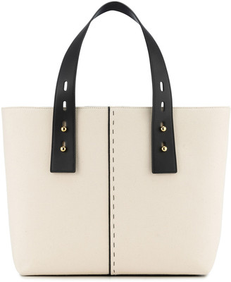 Frame Les Second Medium Bicolor Tote Bag