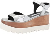 Stella McCartney Elyse Metallic Wedge