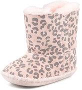 UGG Cassie Leopard-Print Bootie, Baby Pink
