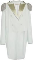 Nina Ricci Linen Tall Coat