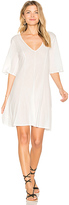 Lacausa Billie Mini Dress in White. - size L (also in M,S,XS)