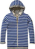 Scotch & Soda Breton Striped Zip-Through Hoodie