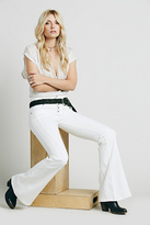 Free People Womens NIGHT OUT HIGH RISE FLARE