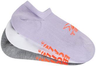 Bonds Womens X-Temp No Show Socks 3 Pack