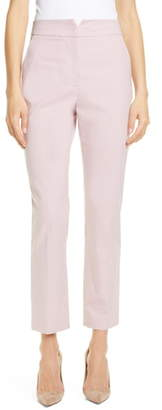 Rebecca Taylor Tailored by Stretch Cotton Blend Suit Pants