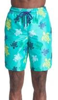 Vilebrequin Men's 'Okoa' Turtle Print Swim Trunks