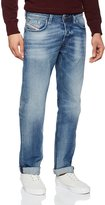 Diesel mens stretch Jeans LARKEE 0853P regular straight leg (32W / 34L)