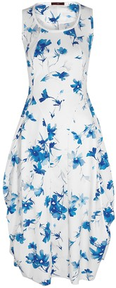 High At Length floral-print stretch-jersey dress