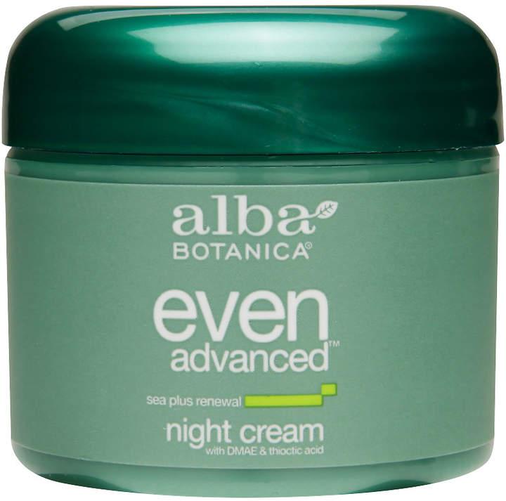 Alba Even Advanced Night Cream with DMAE & Thioctic Acid Sea Plus Renewal