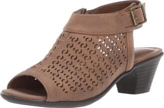 Easy Street Shoes Women's Jill Dress Casual Sandal with Cutouts Heeled