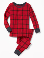 Old Navy 2-Piece Plaid Sleep Set for Toddler & Baby