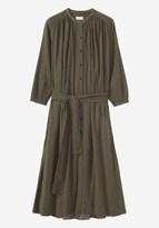 Toast Seersucker Cotton Crepe Dress