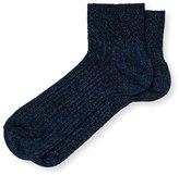 Oliver Bonas Cleo Shimmer Ankle Socks